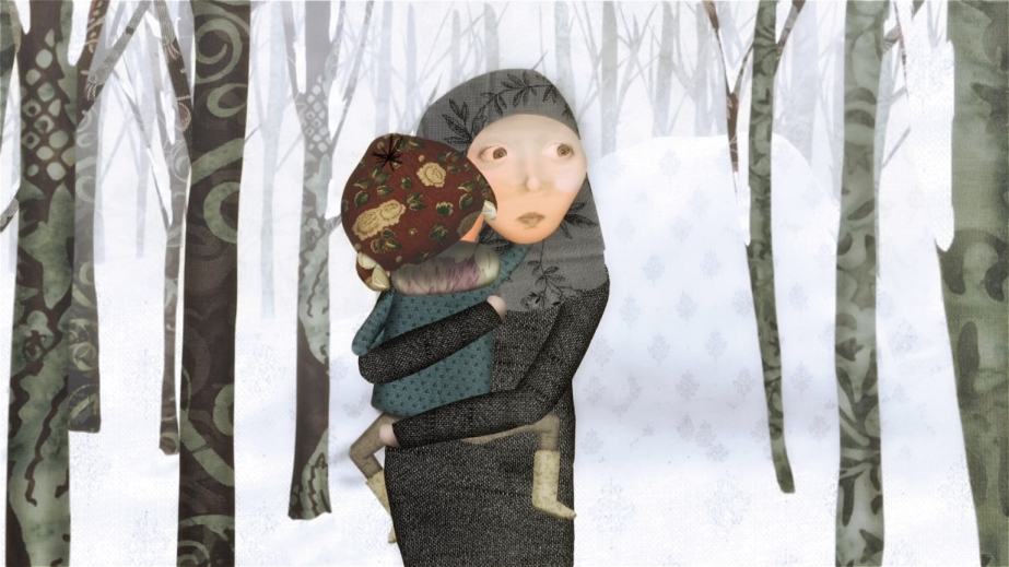 Mother carries Rory